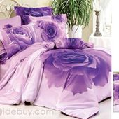 Rose bedclothes