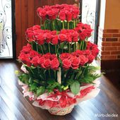 Awesome red rose bouquet