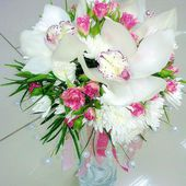 Lovely orchids bouquet!