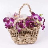 An orchid basket