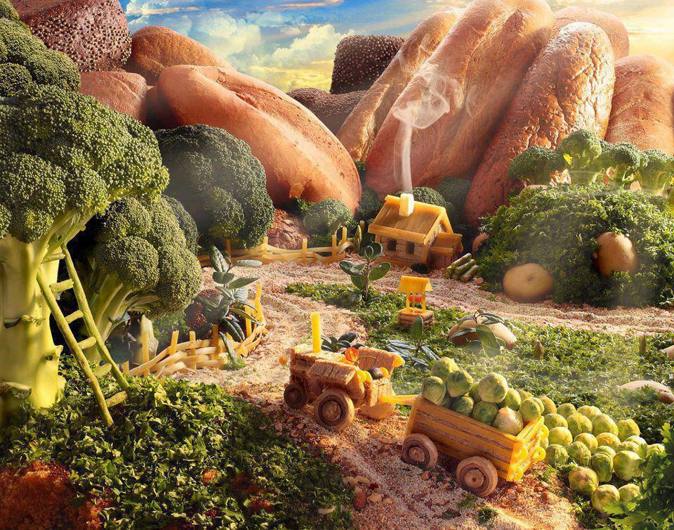 The Foodscape of Carl Warner