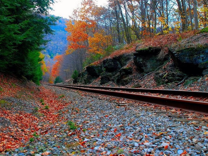 Romantic railway
