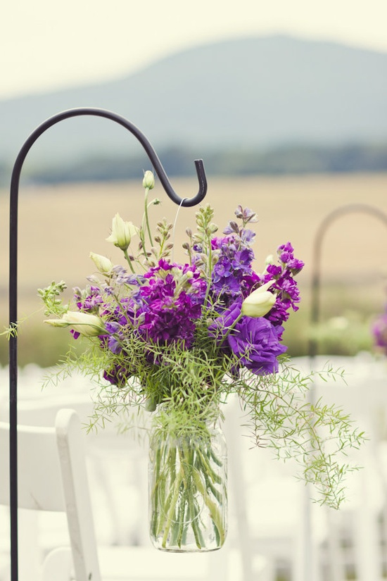 Outdoor flower arrangements