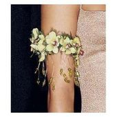Orchid armband corsage