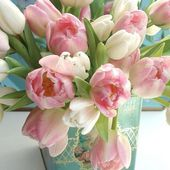 Tender tulip bouquet