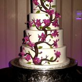 Orchid tree cake