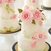 Two tier mini cakes