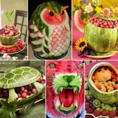 Amazing fruit art