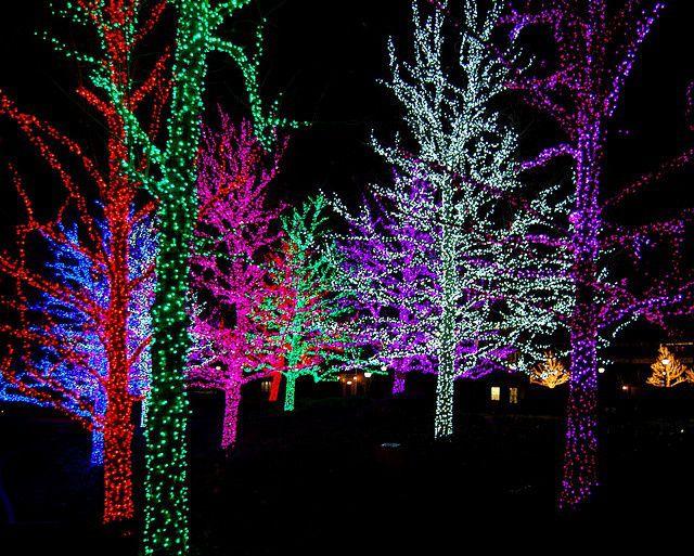Christmas Lights In Oklahoma