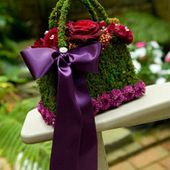 Wedding flower purse