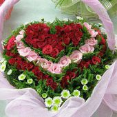 Heart Flower Basket