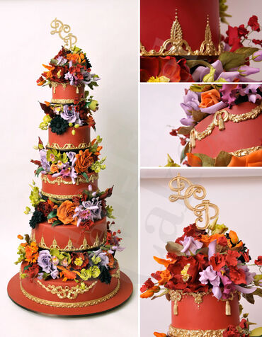 10 Tear Wedding Cake