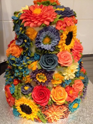 Beautiful Floral Cake Artistry