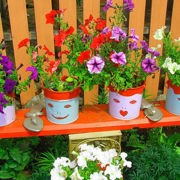 Поделки для сада и огорода своими руками из пробок