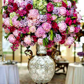 Oversized Arrangement Filled with Pinks and Purples