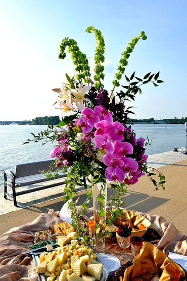 Perfect Orchid Centerpiece
